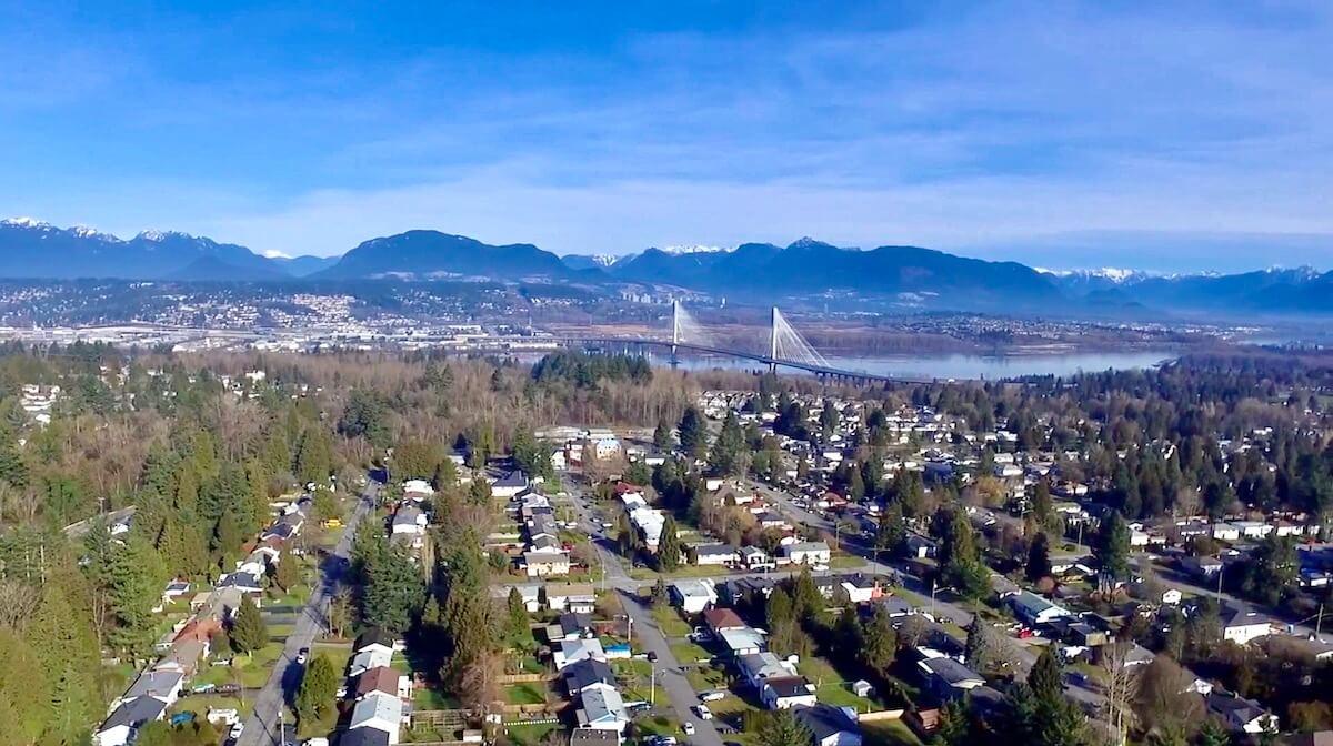 Content creation   Création de contenu - Vancouver drone shots IELTS BRITISH COUNCIL