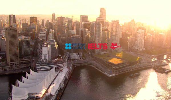Content creation | Création de contenu - Vancouver drone shots IELTS BRITISH COUNCIL